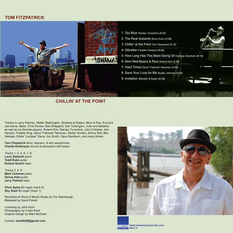 Tom Fitzpatrick: Chillin' at the Point - Immersion Records 2010